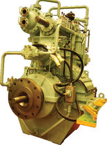reduction gearbox with hydraulic clutch for boats  HYUNDAI Marine Engines