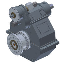 reduction gearbox with hydraulic clutch for boats CPG400 Hundested Propulsion Systems