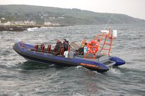 rescue boat : rigid inflatable boat (in-board) 8.4 OPEN Red Bay