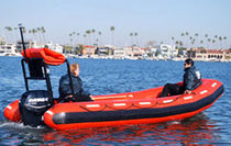 rescue boat : foldable inflatable boat SEA FORCE  490  Willard Marine