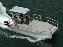 rescue boat : power catamaran RESCUECAT Oceanid