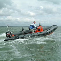 rescue boat : rigid inflatable boat (outboard, jockey console) XS 540 XS Ribs