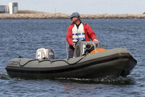 rescue boat : rigid inflatable boat (outboard, jockey console) HIGH PERFORMANCE 5.4M Tornado Boats