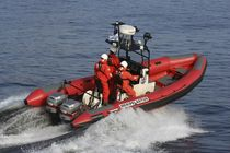 rescue boat : rigid inflatable boat (outboard, twin engine, jockey console) C-740  Boomeranger