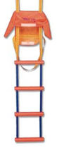 rescue ladder for boats S16 TREM