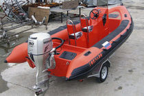 rigid inflatable boat (utility, outboard, jockey console) HIGH PERFORMANCE 6.8M Tornado Boats