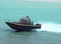 rigid inflatable boat (utility, outboard, twin engine, with enclosed cockpit) 27 EXTREME Northwind