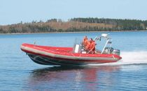 rigid inflatable boat (outboard, aluminium, center console, roll-bar) 23' RHIB ABCO Industries Limited