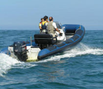 rigid inflatable boat (outboard, center console) 500S Explorer Marine