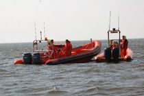 rigid inflatable boat (passenger boat, outboard, twin engine, center console) SUPER 8M Tornado Boats