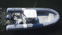 rigid inflatable boat (utility, outboard, center console) TEMPEST 750 WORK Capelli