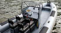 rigid inflatable boat (utility, outboard, center console) R 26 OB CC  Rupert Marine