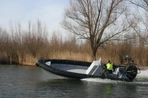 rigid inflatable boat (work-boat, outboard, center console) PATROL 7.5 Euro Offshore - Blue Spirit