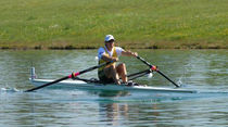 rowing shell : competition single scull F22 Filippi
