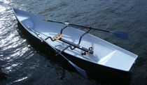 rowing shell : recreational jolly-boat SINGLE Baumgarten Bootsbau