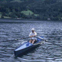 rowing shell : touring single scull FUN TRAINER Baumgarten Bootsbau