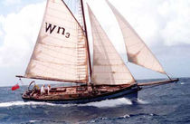 sailboat : classic cutter Nigel Irens Westernman, ALICE WRAGG Covey Island Boatworks