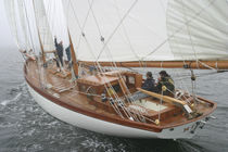 sailboat : classic sailing-yacht (schooner) Starling Burgess, NINITA Covey Island Boatworks