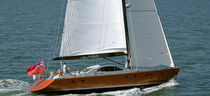 sailboat : cruising sailing-yacht (aluminium, deck saloon, twin steering wheel, teak deck) 70' PERFORMANCE CRUISER Van Dam Nordia