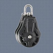 sailboat double block with swivel (max. rope ø : 14 mm) 75205 Wichard