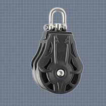 sailboat double block with swivel (max. rope ø : 9 mm) 62205 Wichard