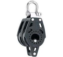 sailboat double block with swivel / becket (max. rope ø : 10 mm) 2643 Harken