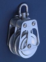 sailboat double block with swivel (max. rope ø : 14 - 33 mm) BL = 600 -> 18000 KG OH MARINE EQUIPMENT
