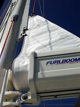 sailboat in-boom furling system FEEDER Furlboom
