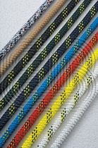 sailboat rope : racing (Polyester core / Polyester cover) POLYESTER 100 English Braids