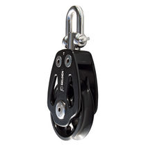 sailboat single block with swivel (max. rope ø : 20 mm) PBB 100 - SWL = 4000 KG Seldén