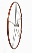 sailboat steering wheel (wood) Ø 900 mm | TYPE A ikibro ltd.