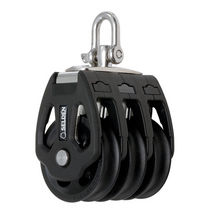 sailboat triple block with swivel (max. line ø : 12 mm) PBB 50 - SWL = 700 KG Seldén