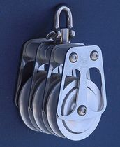 sailboat triple block with swivel (max. line ø : 14 - 33 mm) BL = 600 -> 18000 KG OH MARINE EQUIPMENT