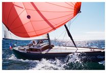 sailboat : classic day-sailer (trailerable) HAI-REQUIN SO MUCH YACHTING