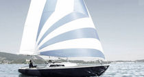 sailboat : classic day-sailer (with cabin) H 26 FRAUSCHER BOOTSWERFT