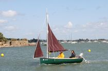 sailboat : classic open boat SKELLING 1.2 SLOOP Plasmor