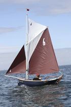 sailboat : classic open boat LA GAZELLE DES SABLES La GAZELLE DES SABLES