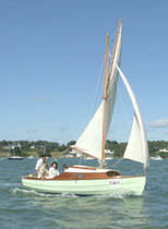sailboat : classic sloop (sliding gunter) BENIGUET Grand Largue