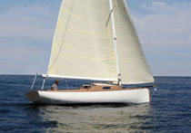 sailboat : classic sloop (wooden, lifting keel, custom-made) BOLANN  CHANTIER DES ILEAUX