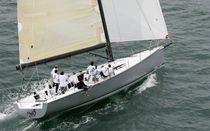 sailboat : cruiser-racer sailing-yacht (semi-custom, carbon hull and rig, with canting keel) C50 Cookson Boats