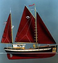 sailboat : cruising motorsailer (wooden) OYSTA 42 Devlin