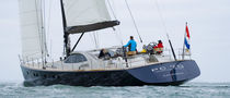 sailboat : cruising sailing-yacht (aluminium, deck saloon, twin steering wheel, teak deck) 70� PERFORMANCE CRUISER  Van Dam Nordia