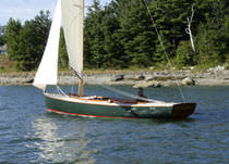 sailboat : day-sailer (open transom) BOOTHBAY 21 Samoset Boatworks, Inc.