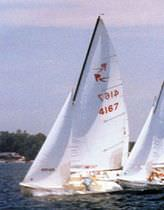 sailboat : racing keelboat REBEL Nickels Boats