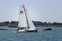 sailboat : racing keelboat (canting keel, bow-sprit) HEOL 7.4 Q Heol Altona