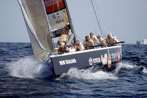 sailboat : racing sailing-yacht BLACK MAGIC McMullen & Wing