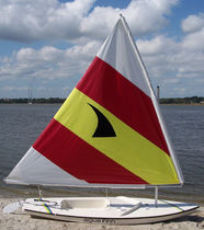 sailing dinghy : cat boat AQUA FINN American Sail