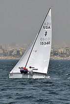 sailing dinghy (symmetric spinnaker) LIGHTNING Nickels Boats