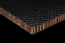 sandwich panel : carbon fiber / honeycomb 12 X 12 | NOMEX  Protech Composites, Inc.