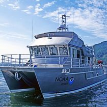 scientific research boat (oceanographic) 48&amp;#x02032; R/V AUK  All American Marine